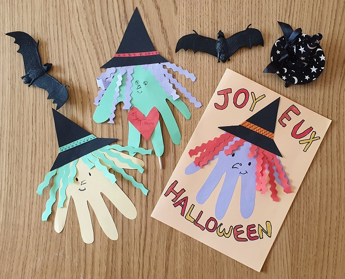 Maped - DIY activity for Halloween - Paper Witches - 11